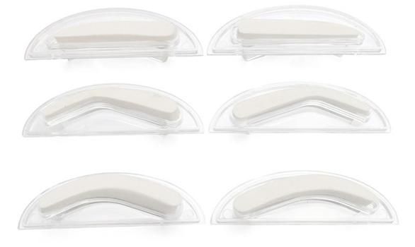Различные формы штампов для бровей